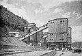 Fabrica de ciment Bicaz - incarcarea materii prime in fabrica.jpg