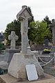 Faces est des croix de cimetière en batière et en chasuble (Pacé, Ille-et-Vilaine, France).jpg