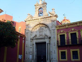 Entrada de la Basílica del Cristo del Gran Poder