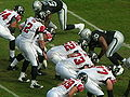 Falcons on offense at Atlanta at Oakland 11-2-08 04.JPG