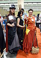 Fan Expo 2012 - Steampunk Thor, Loki & Iron Man (8143104437).jpg