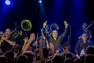 Fanfare Ciocărlia Romani brass band