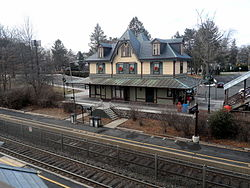 Fanwood station on the Raritan Valley Line