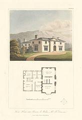 Farm house near Brecon so. Wales.Mr. R. Dawson