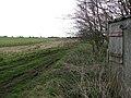 Farm track along reservoir - geograph.org.uk - 1215994.jpg