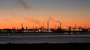 Southampton Water - Fawley Oil Refinery