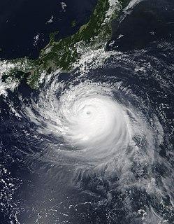 Typhoon Faxai Pacific typhoon in 2019