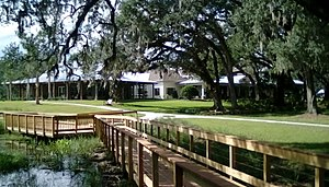 The Villages, Florida - The Fenney Recreational Center showing a portion of the Fenney Springs Nature Trail.