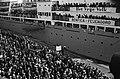 Feijenoordsupporters naar Lissabon Vertrek van de schepen Groote Beer en Waterm, Bestanddeelnr 915-1216.jpg