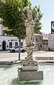 Feldkirchen Hauptplatz Nymphenbrunnen Brunnenfigur 28062016 2976.jpg