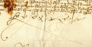 Ferdinand the Catholic's signature