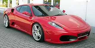 Ferrari F430 V8 sports car manufactured by Italian automobile manufacturer Ferrari as a successor to the 360