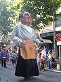 Festa Major d'Igualada 2009 - Gegant Tonet el Blanquer.JPG