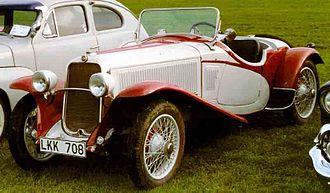 Fiat 514 - Fiat 514 CA Spider 1931