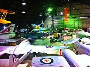 Fighter World - Aircraft inside Fighter World in 2013
