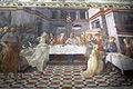 Filippo lippi, affreschi del 1452-65, banchetto di erode 02.JPG