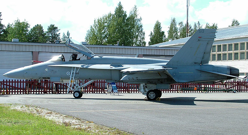File:Finnish Air Force F-18 Hornet.jpg