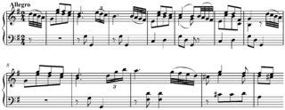 musical melody on which a composition is based