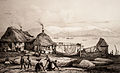 Fisherman's hut in Reykjavík, 1836.jpg
