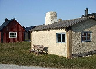 Gnisvärd - Fälting-Lotte's cottage at Gnisvärd harbor
