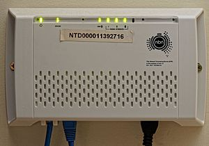 National Broadband Network - Network Termination Device for fixed wireless