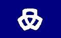 Flag of Nishiki Hyogo chapter.JPG