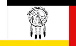 Flag of the Ponca Tribe of Nebraska.PNG