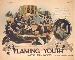 Flaming Youth (film) - Lobby card