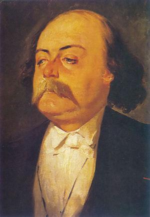 Gustave Flaubert - Portrait by Eugène Giraud