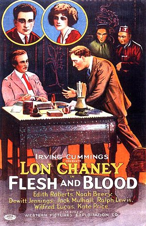 Flesh and Blood (1922 film) - Image: Flesh and Blood 1922 Poster