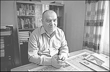 Flickr - Ion Chibzii - Writer Vasile Coroban (70 years).jpg