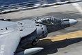 Flickr - Official U.S. Navy Imagery - An AV-8B Harrier launches at sea..jpg