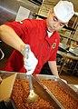Flickr - Official U.S. Navy Imagery - Sailor prepares beans at naval hospital in San Diego..jpg