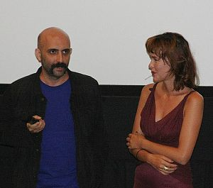 Paz de la Huerta - Gaspar Noé and Paz de la Huerta answering questions about the film at the Toronto International Film Festival
