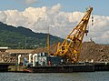 Floating crane, Barnett Dock, Belfast - geograph.org.uk - 874436.jpg