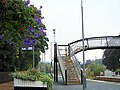 Floral display at Pitlochry railway station - geograph.org.uk - 575437.jpg