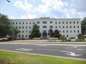 Florida Fish and Wildlife Conservation Commission - The Florida Fish and Wildlife Conservation Commission building in Tallahassee.