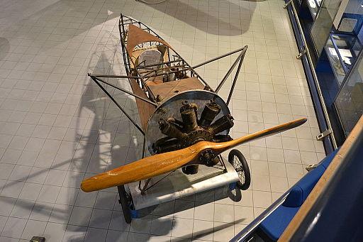 Fokker D.VIII top view, Museo dell'Aeronautica Gianni Caproni