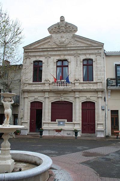 Fontès (Hérault) - Mairie.