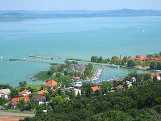 Fonyód Town in Southern Transdanubia, Hungary