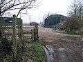 Footpath and Farm - geograph.org.uk - 382138.jpg