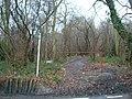 Footpath at top of Jewels Hill, near Biggin Hill - geograph.org.uk - 1718773.jpg