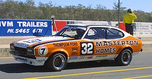 1981 James Hardie 1000 -  Colin Bond and Don Smith placed eighth in a Ford Capri (image from 2005)