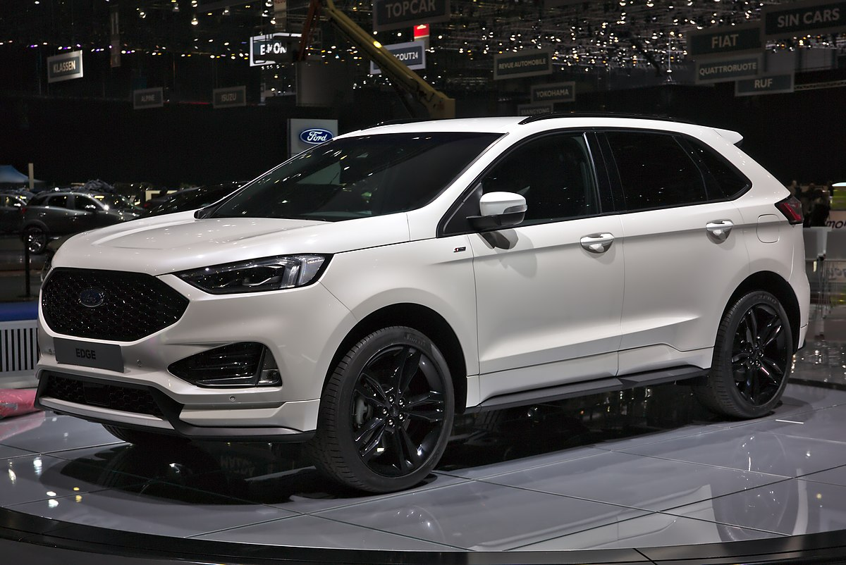 Px Ford Edge Facelift Genf