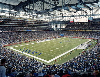 Rossetti Architects - Ford Field, Detroit, Michigan