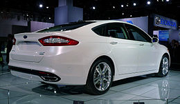 Ford Fusion at NAIAS 2012 005.jpg