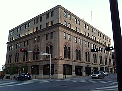 Former Elks Lodge is now headquarters for Oklahoma Natural Gas Company.jpg