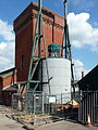 Former hydraulic accumulator at Bristol Docks (geograph 2252954).jpg