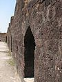Fortification from inside the fort, Murud-Janjira.jpg