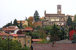 Panorama di Fortunago